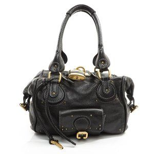 Auth Chloe Paddington Shoulder Bag #8541C83